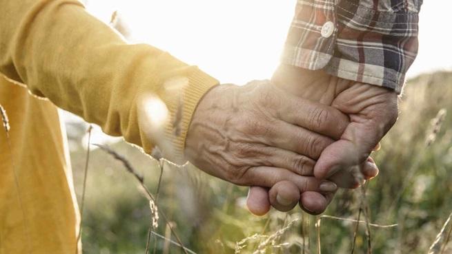 Ancianos Tomados De La Mano Amprensacom